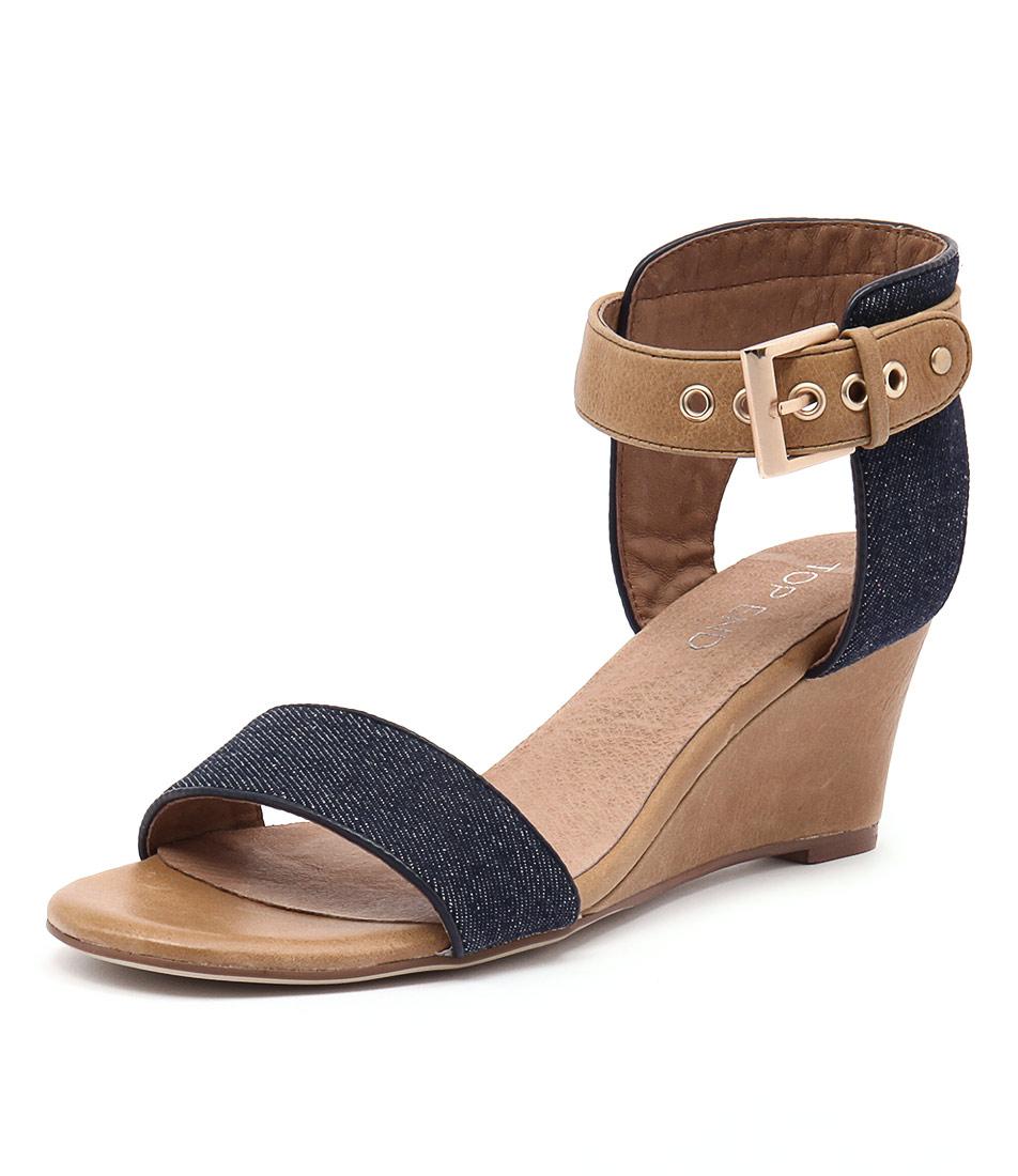 Open Heel Tan Shoes