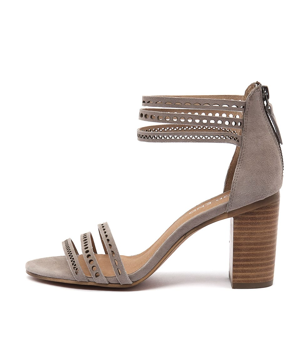 Top End Virgil Taupe Sandals womens shoes online