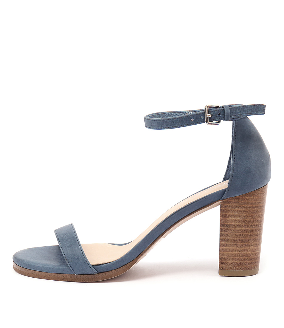 Top End Amalfi Blue Dress Heeled Sandals