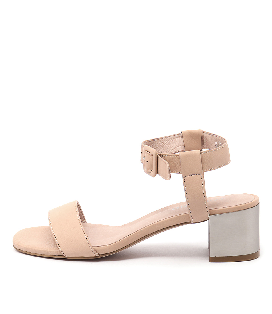 Top End Korse Nude Heeled Sandals