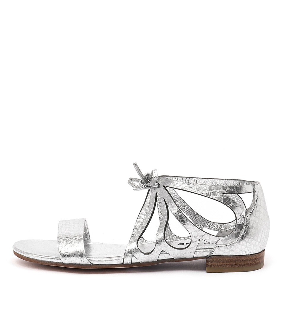 Top End Lassie Silver Sandals