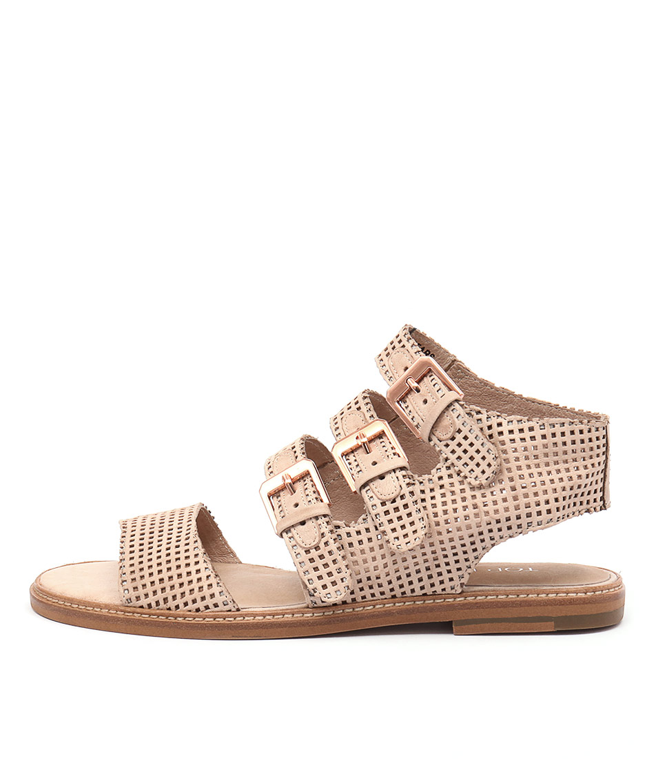 Top End Nears Nude Casual Flat Sandals