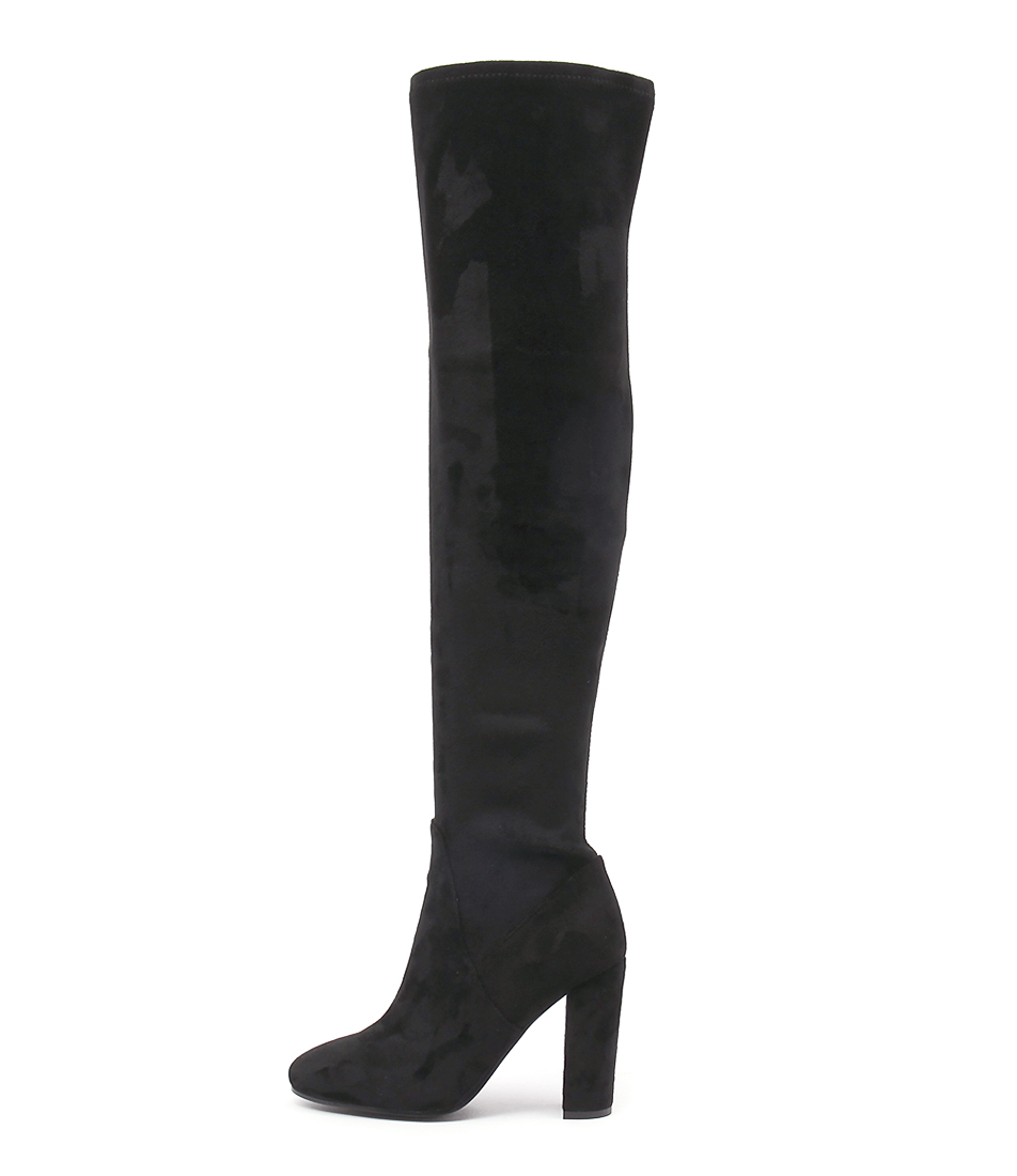 Top End Sharpest Black Long Boots