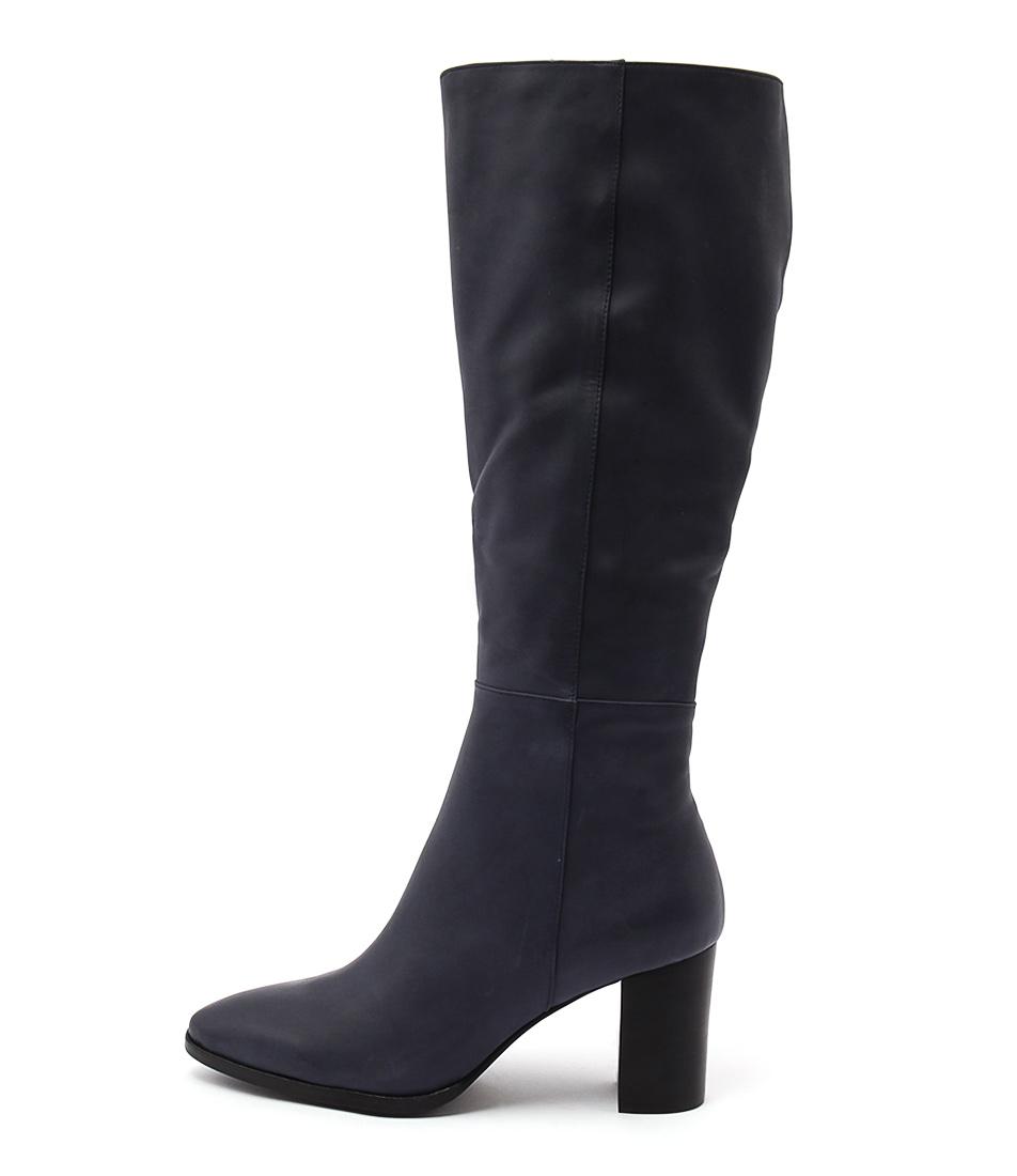 Top End Austin Navy Dress Long Boots