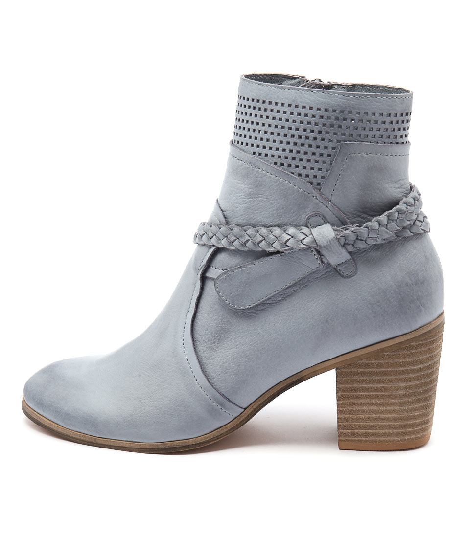 Top End Karnie Denim Casual Ankle Boots