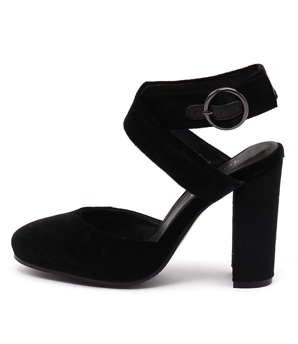 Photo of Top End Sarato Black Sandals womens shoes