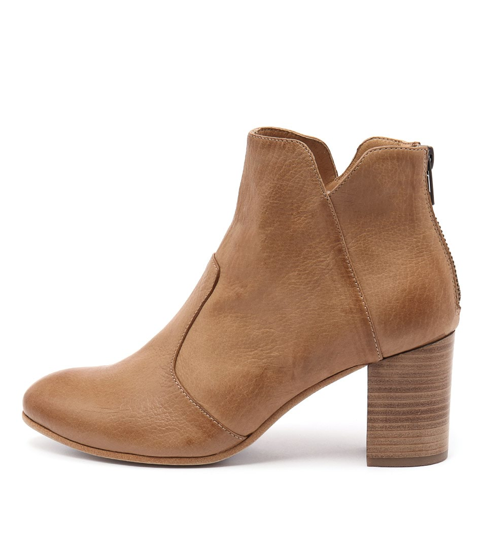 Buy Top End Upclimb Dk Tan Ankle Boots online with free shipping