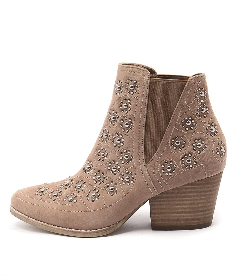 Photo of Top End Wando Taupe Ankle Boots, shop Top End ankle boots online