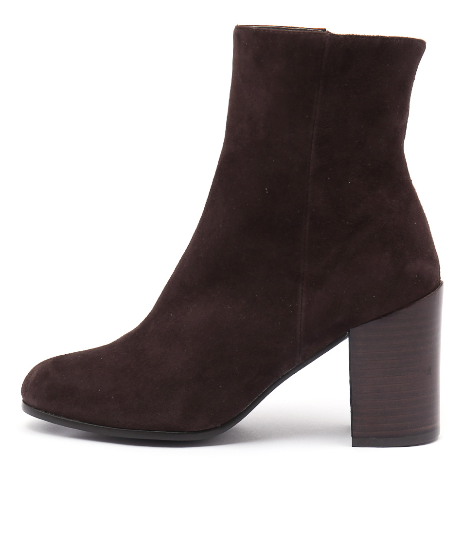 Top End Walken Choc Casual Ankle Boots