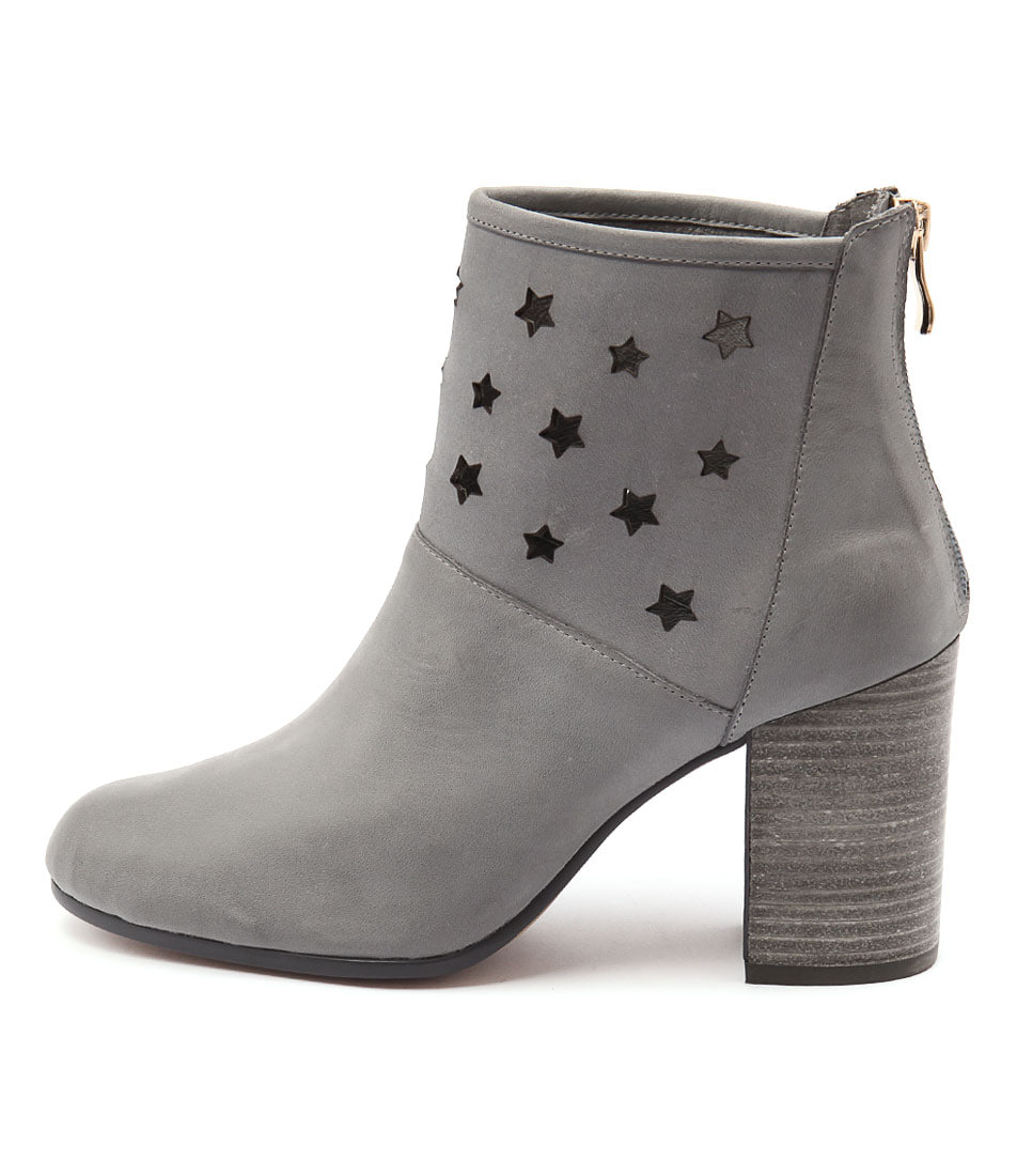 Photo of Top End Wealth Blue Grey Ankle Boots, shop Top End ankle boots online