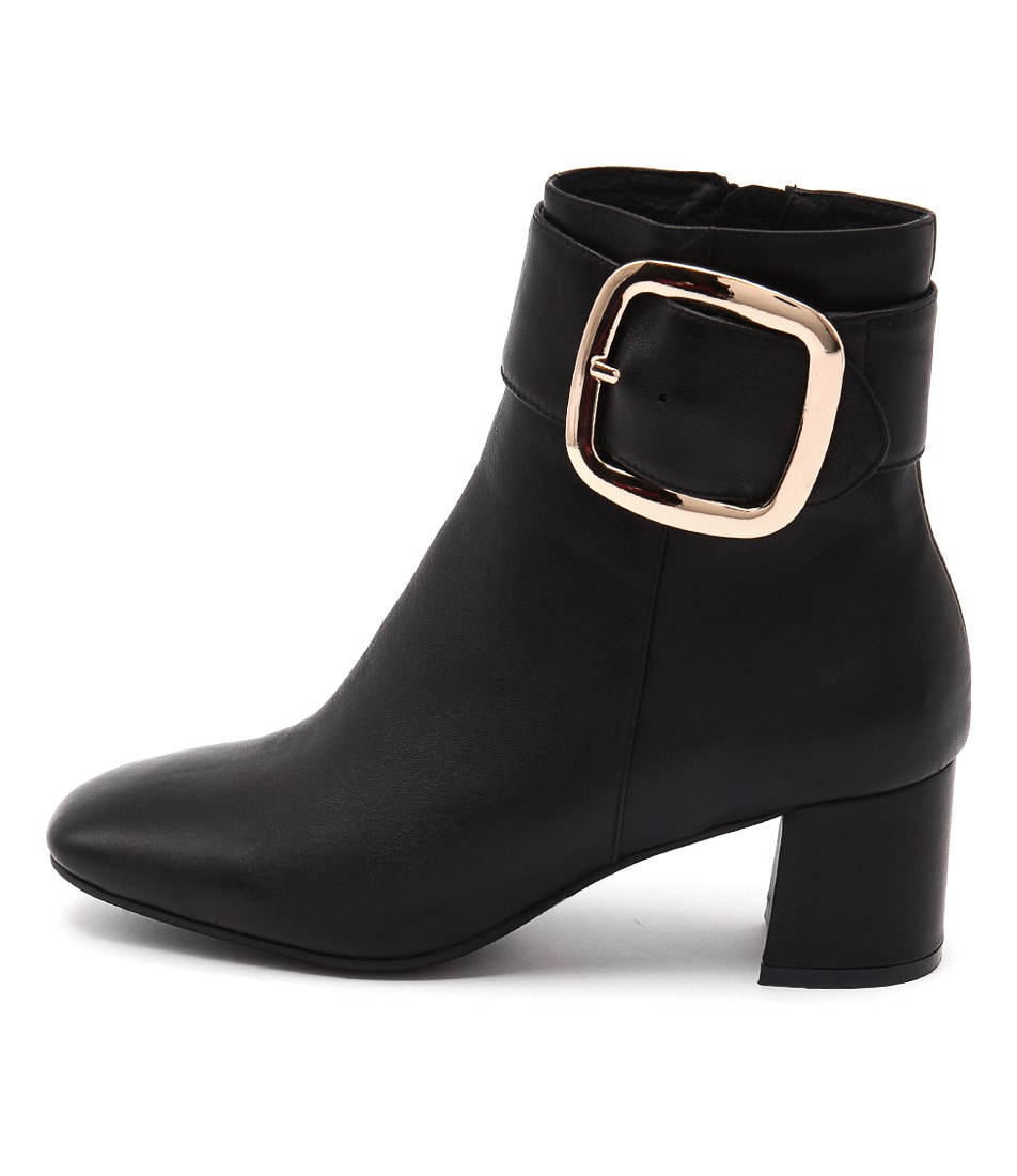 Top End Ratch Black Dress Ankle Boots