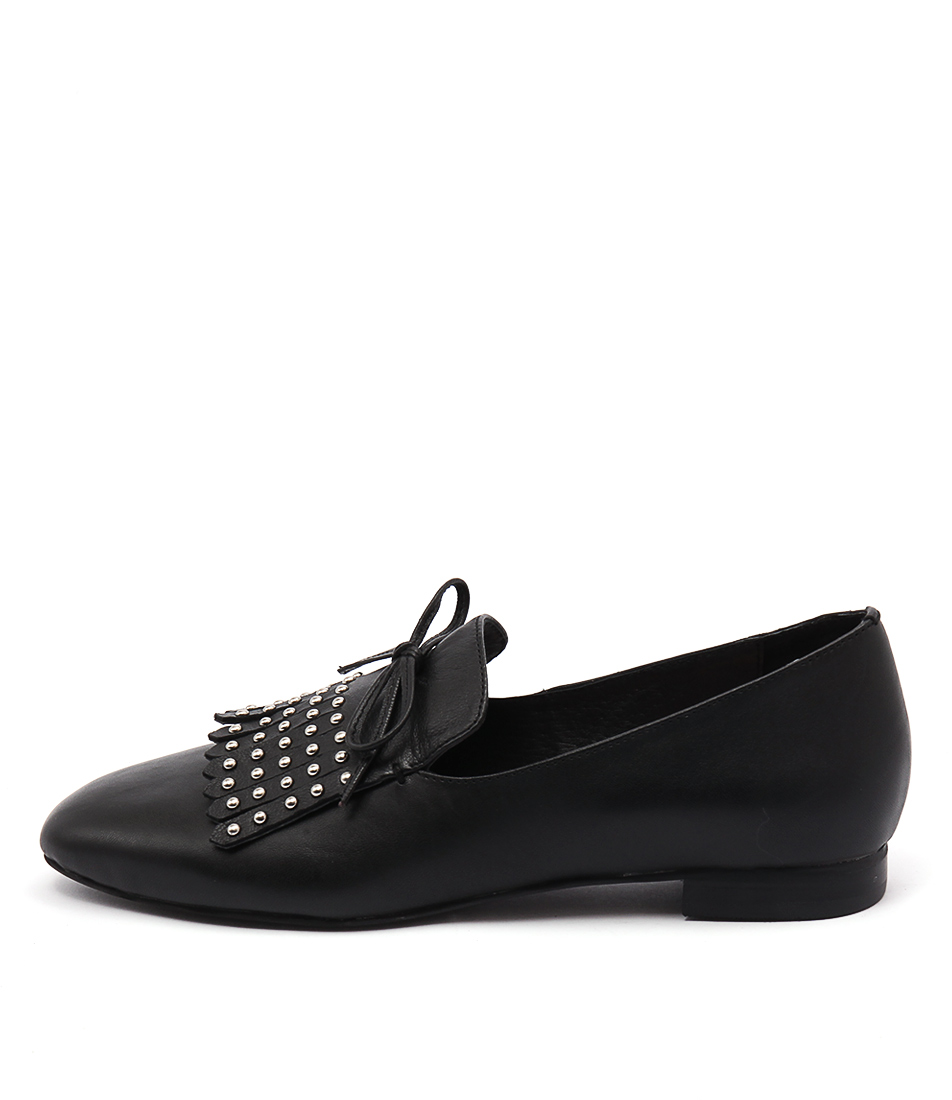Top End Scando Black Flats