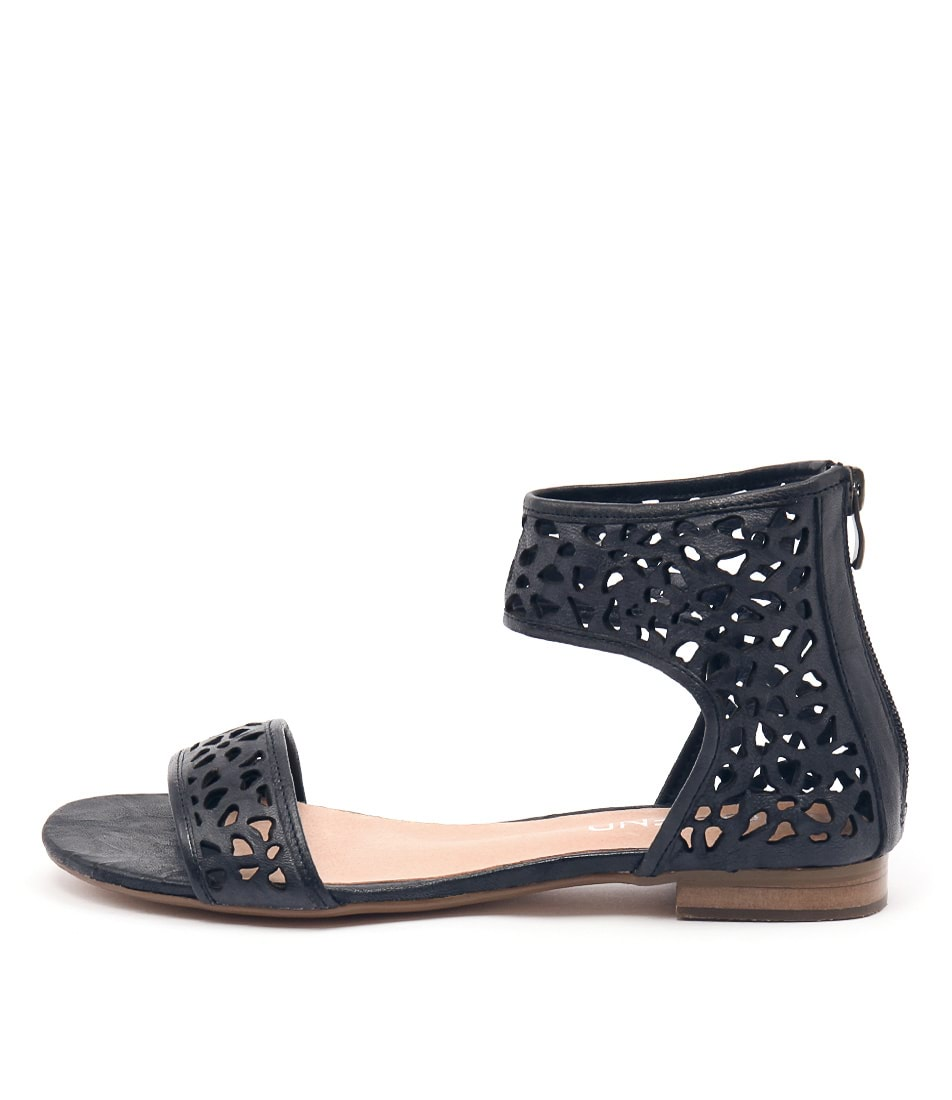 Top End Perfecto Navy Casual Flat Sandals