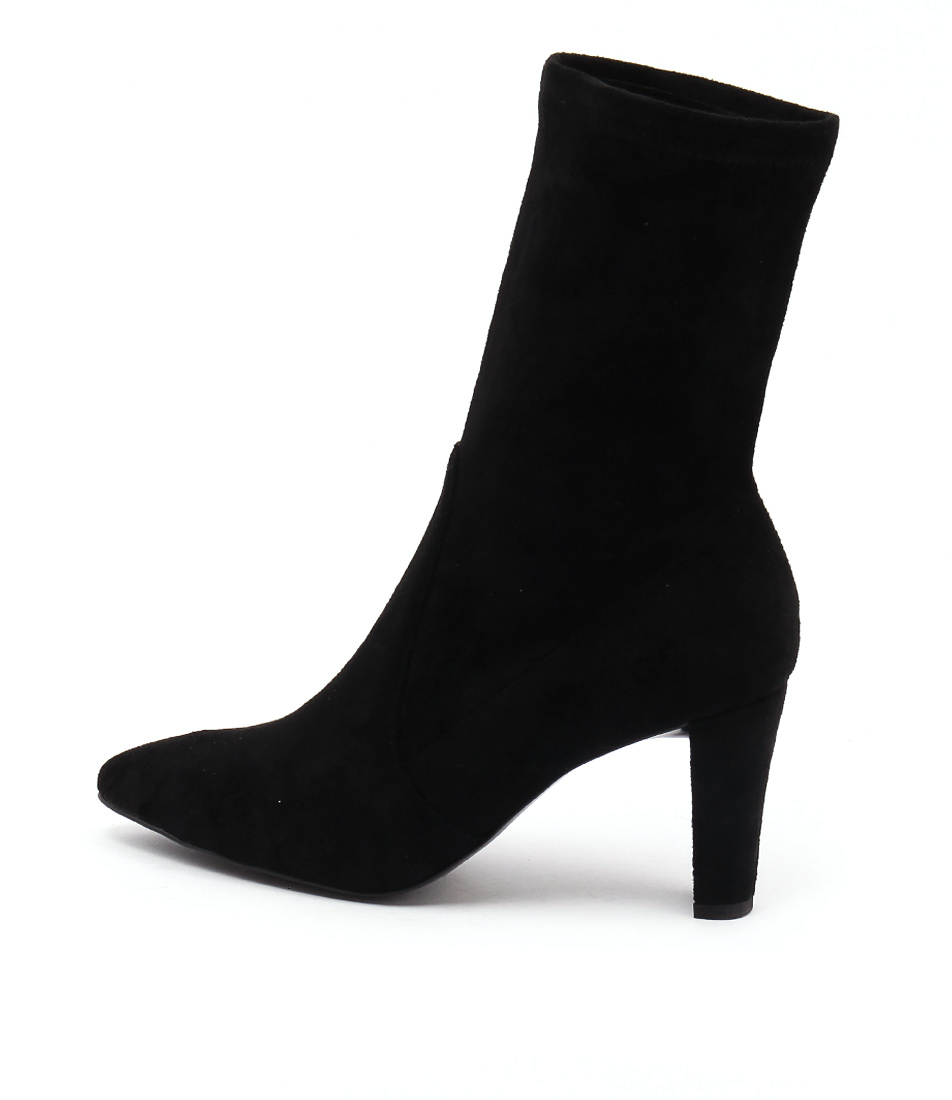 Top End Decor Black Casual Ankle Boots