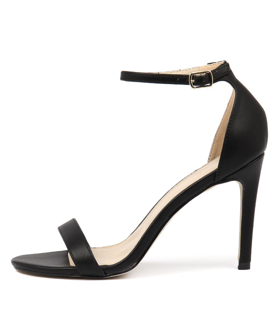 Buy Tres Jolie Blakey Tr Black Heeled Sandals online with free shipping