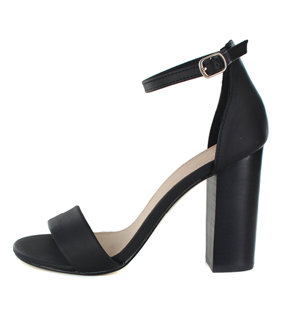 Buy Tres Jolie Torro Black Heeled Sandals online with free shipping