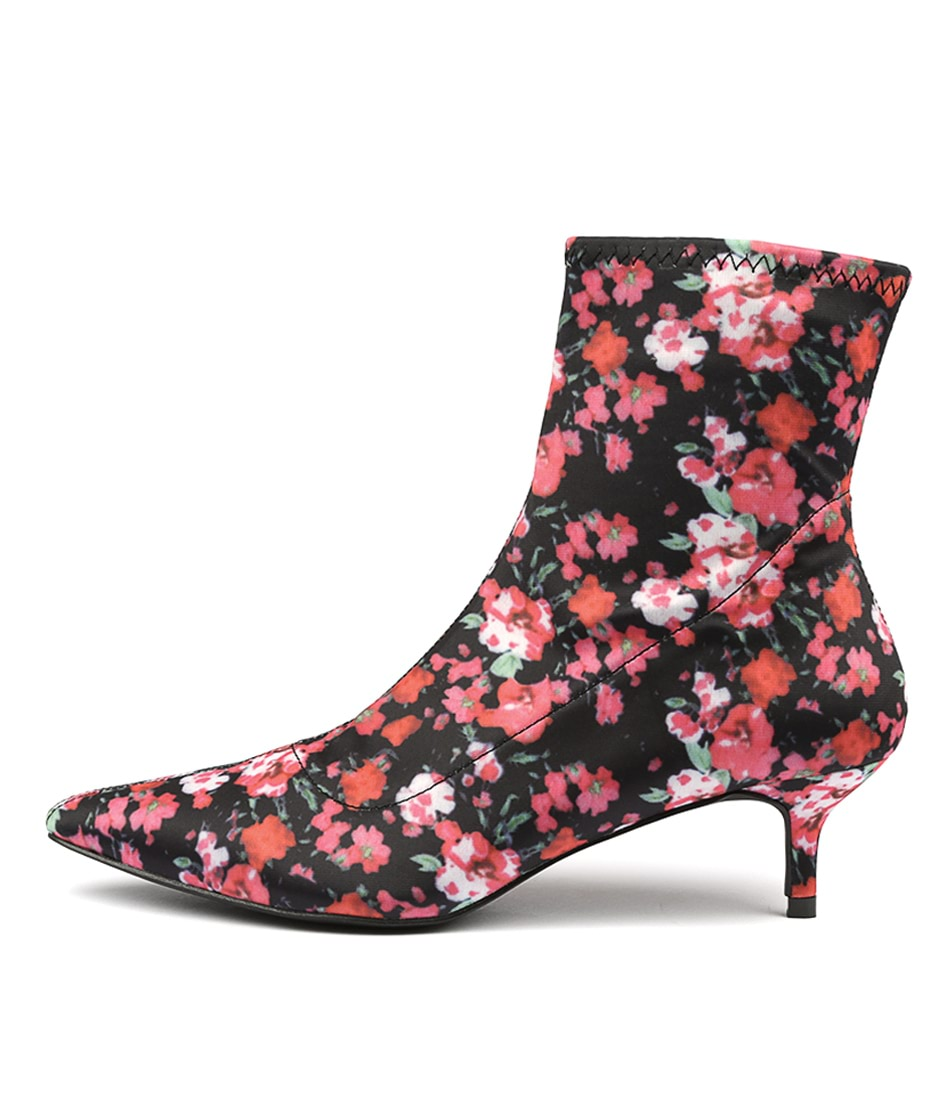 Buy Tres Jolie Christie Tr Floral Ankle Boots online with free shipping