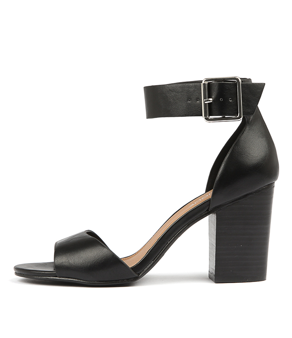 Buy Tres Jolie Macey Tr Black Heeled Sandals online with free shipping