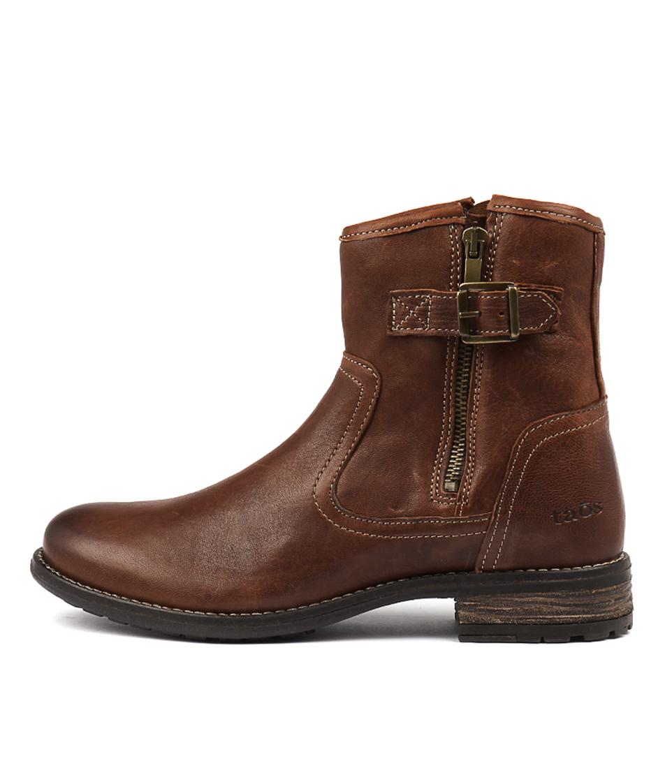 Taos Convoy Cognac Ankle Boots