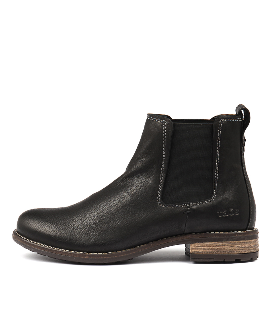Taos Twinnie Black Ankle Boots