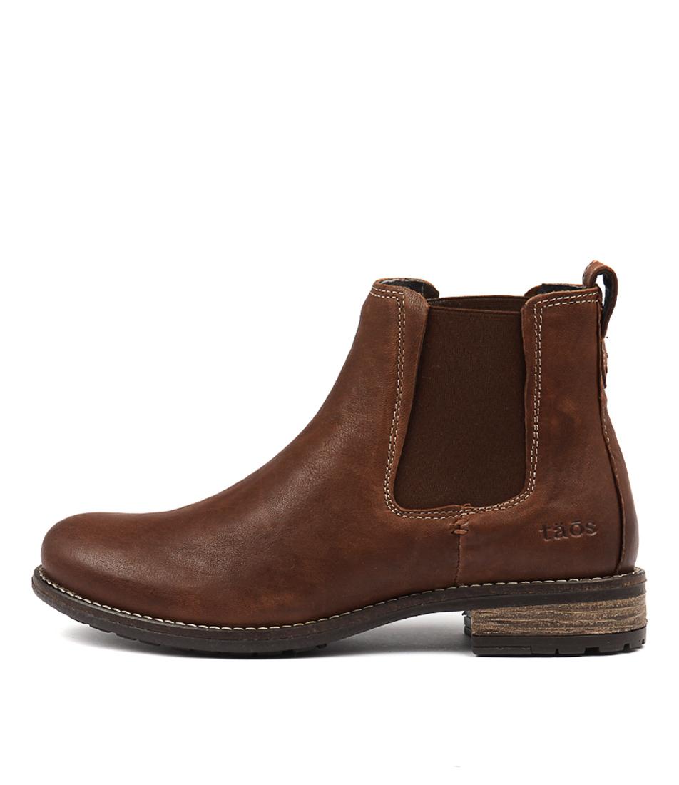 Taos Twinnie Cognac Ankle Boots