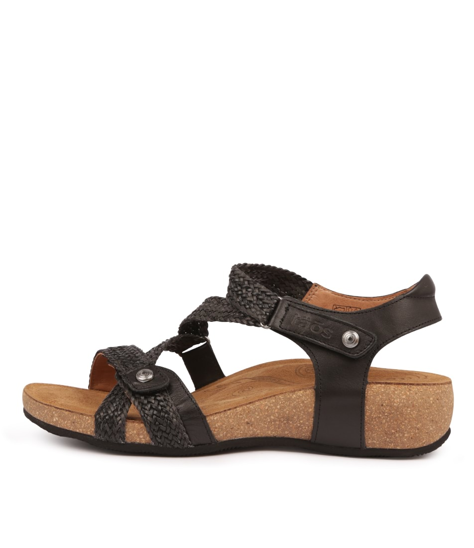 Buy Taos Trulie Black Sandals online with free shipping