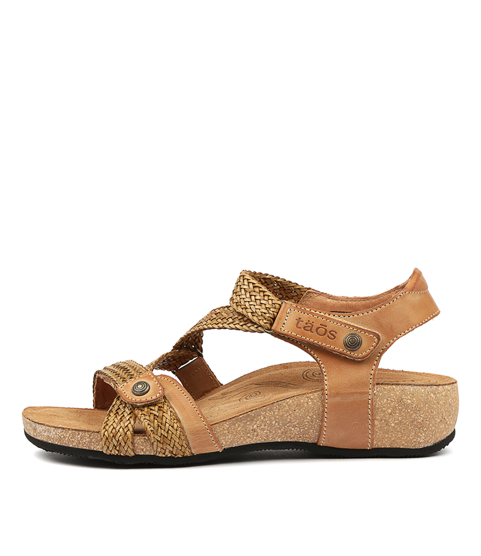Buy Taos Trulie Camel Sandals online with free shipping