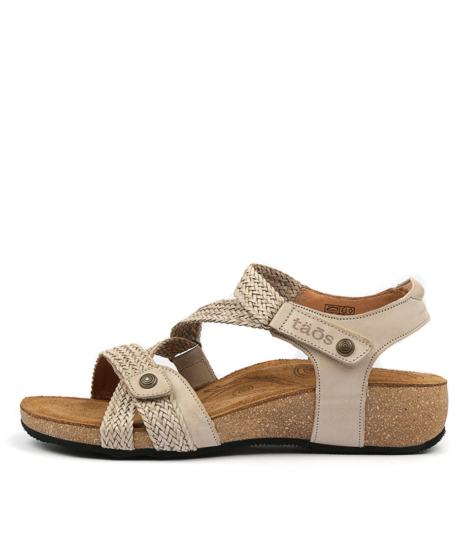 Buy Taos Trulie Stone Flat Sandals online with free shipping