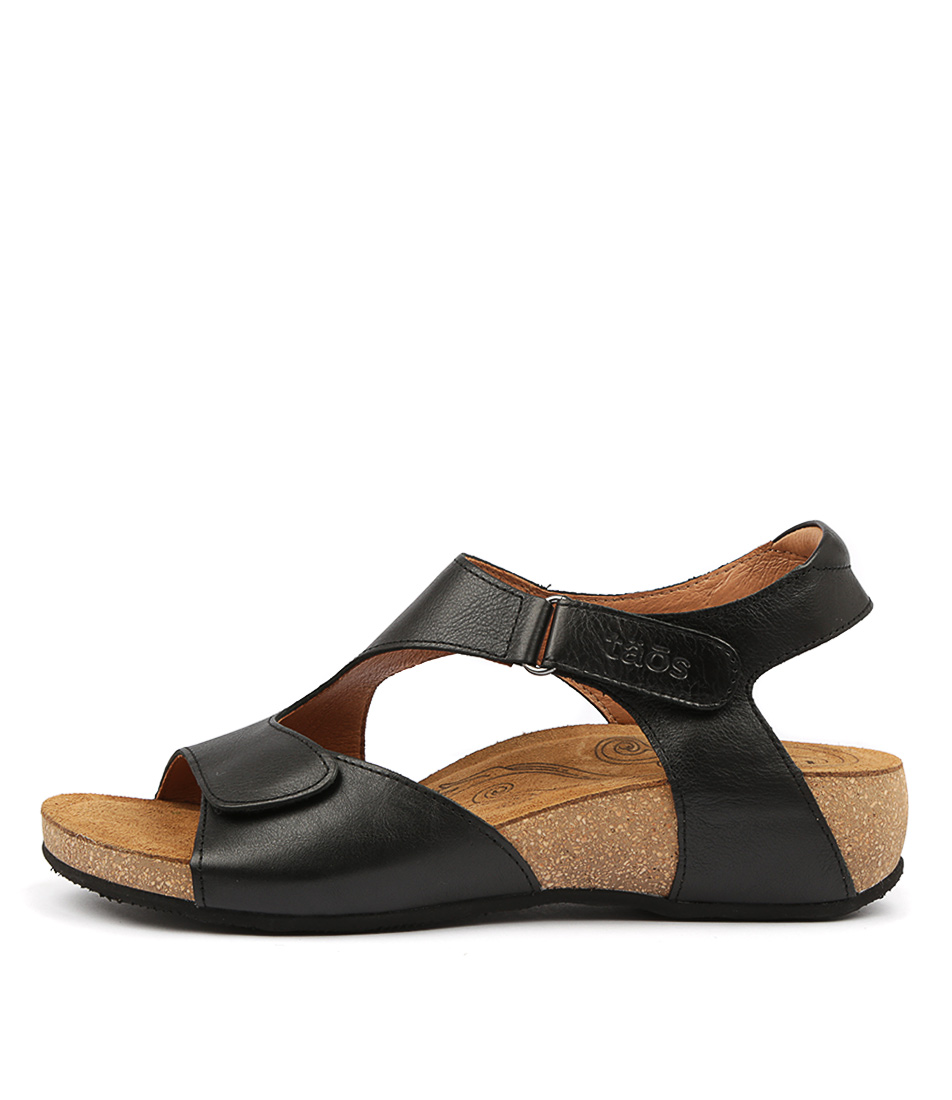 Buy Taos Rita Ts Black Sandals online with free shipping