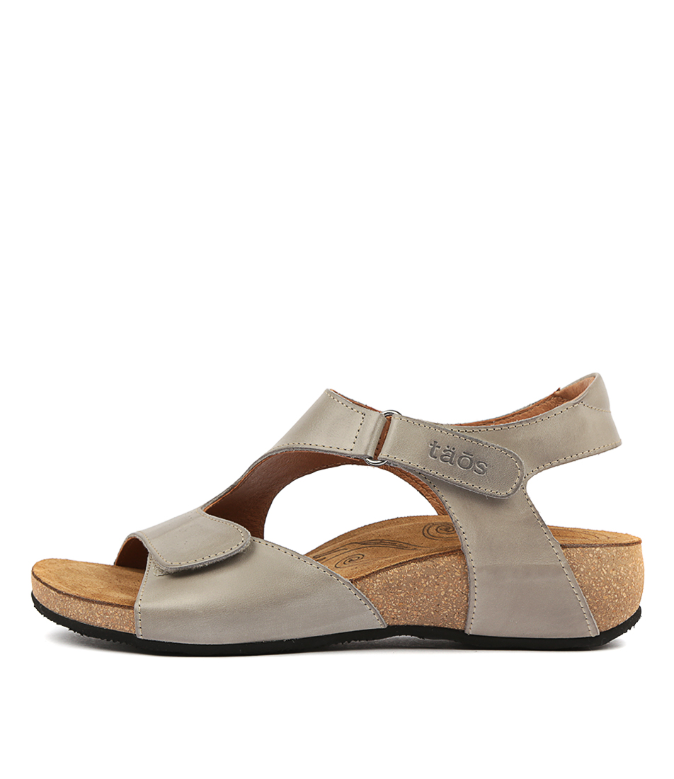 Buy Taos Rita Ts Grey Sandals online with free shipping