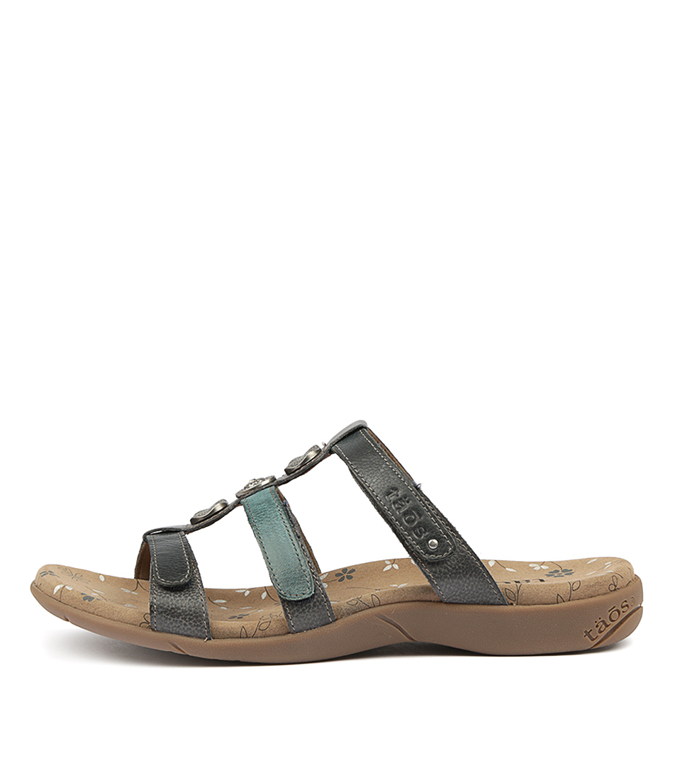 Buy Taos Prize 3 Blue Multi Sandals online with free shipping
