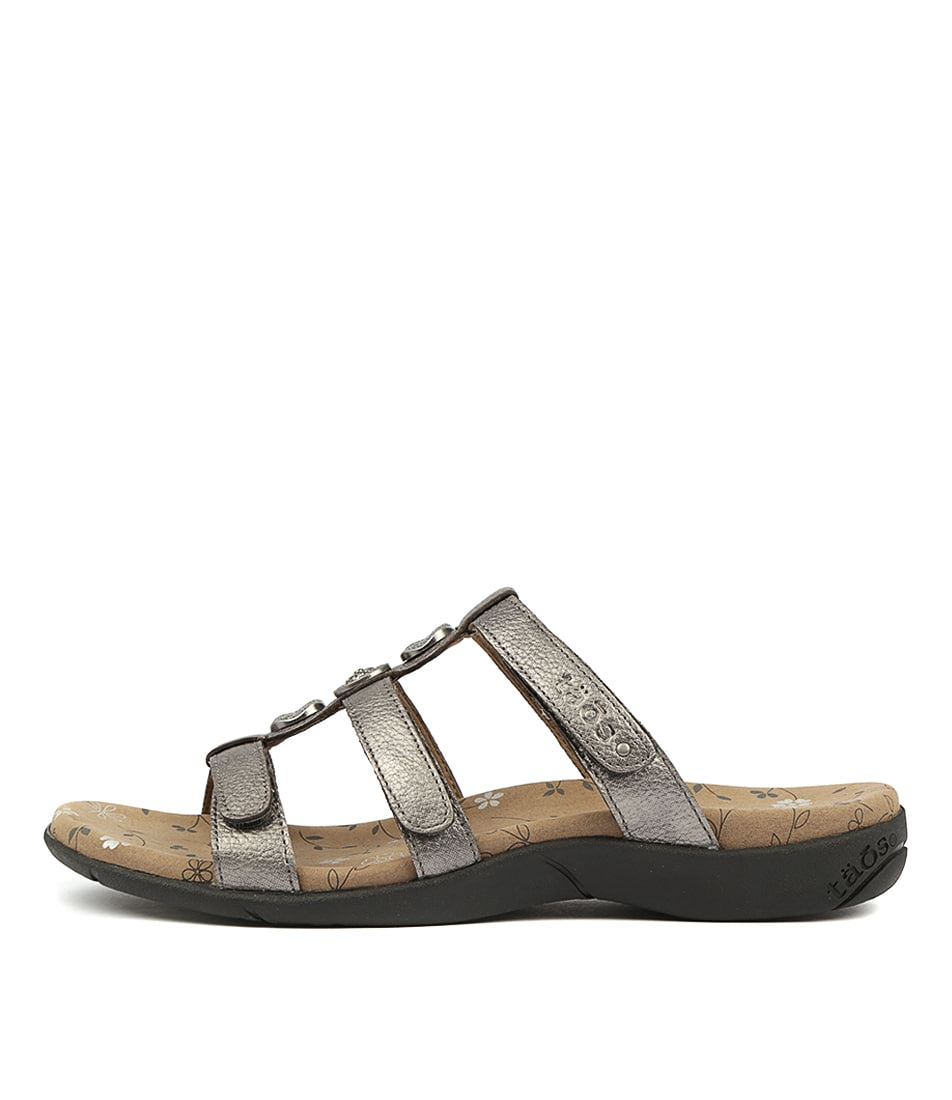 Buy Taos Prize 3 Pewter Sandals online with free shipping