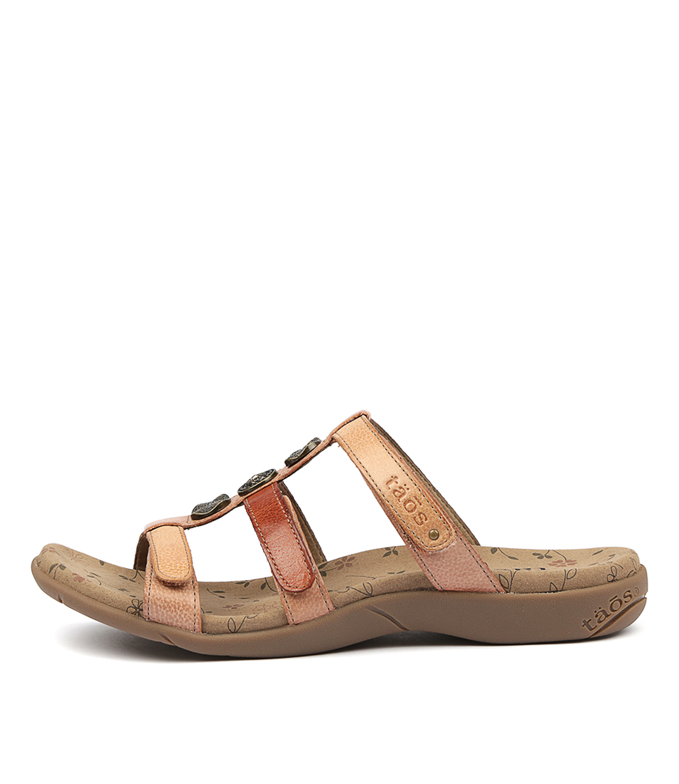 Buy Taos Prize 3 Blush Multi Sandals online with free shipping
