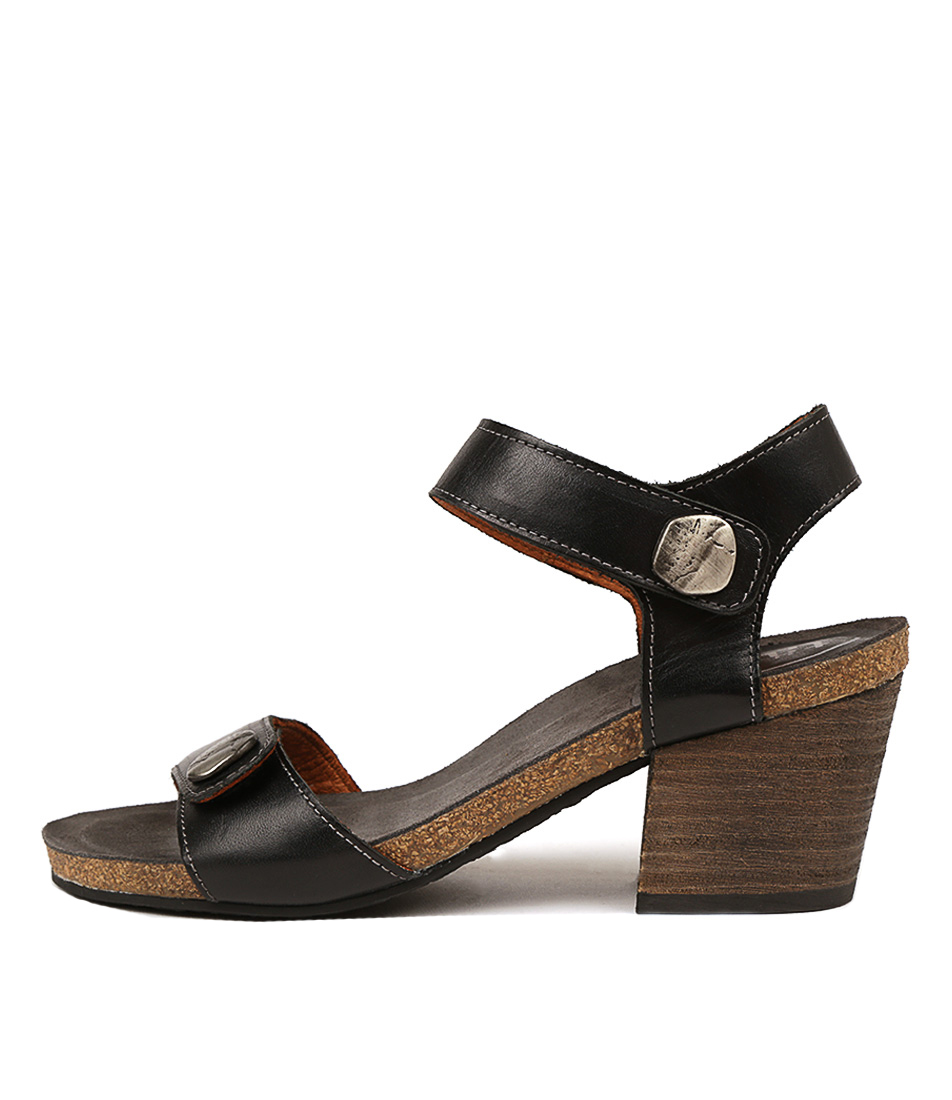 Buy Taos Envy Black Heeled Sandals online with free shipping
