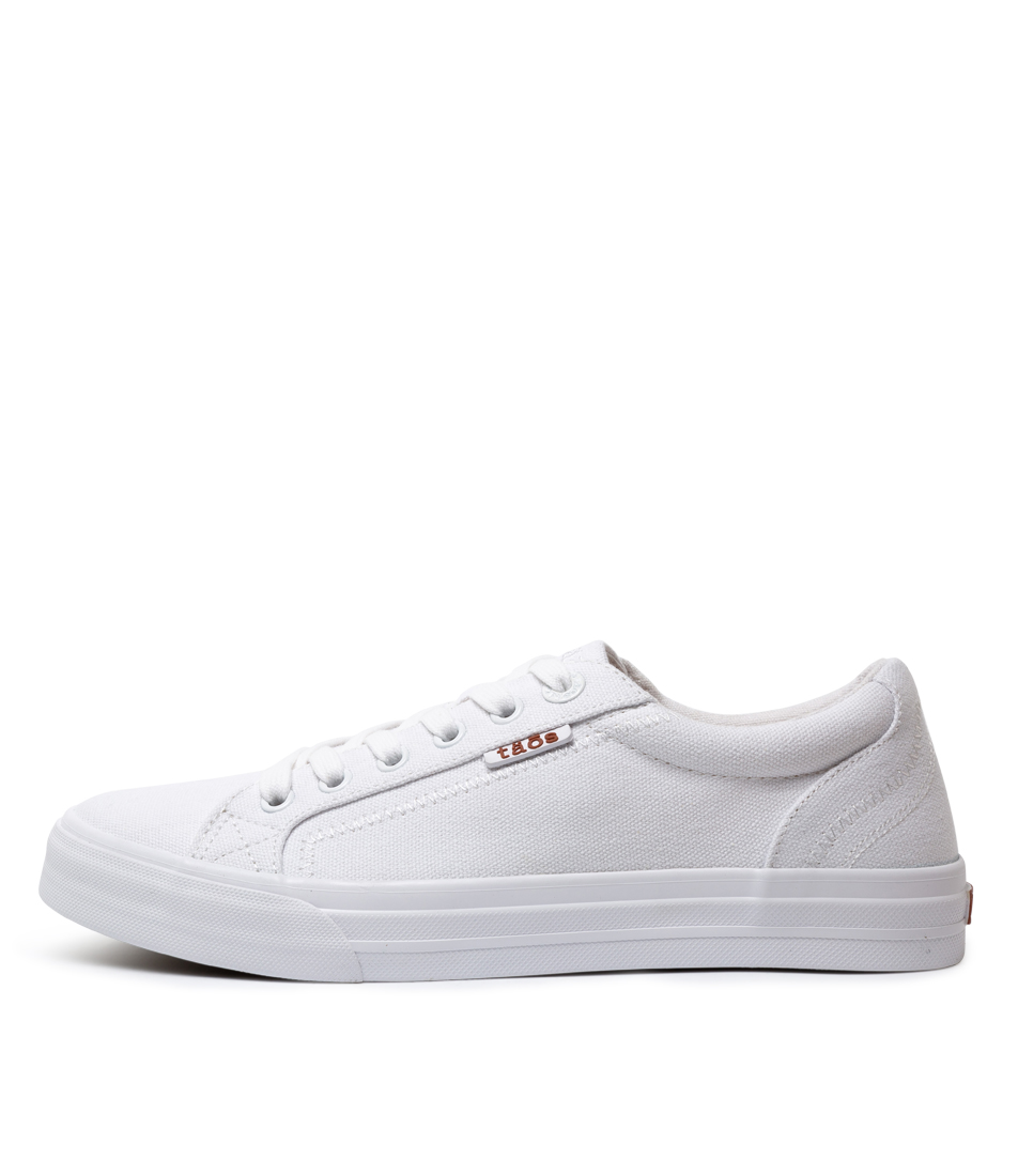 Buy Taos Plim Soul White Sneakers online with free shipping