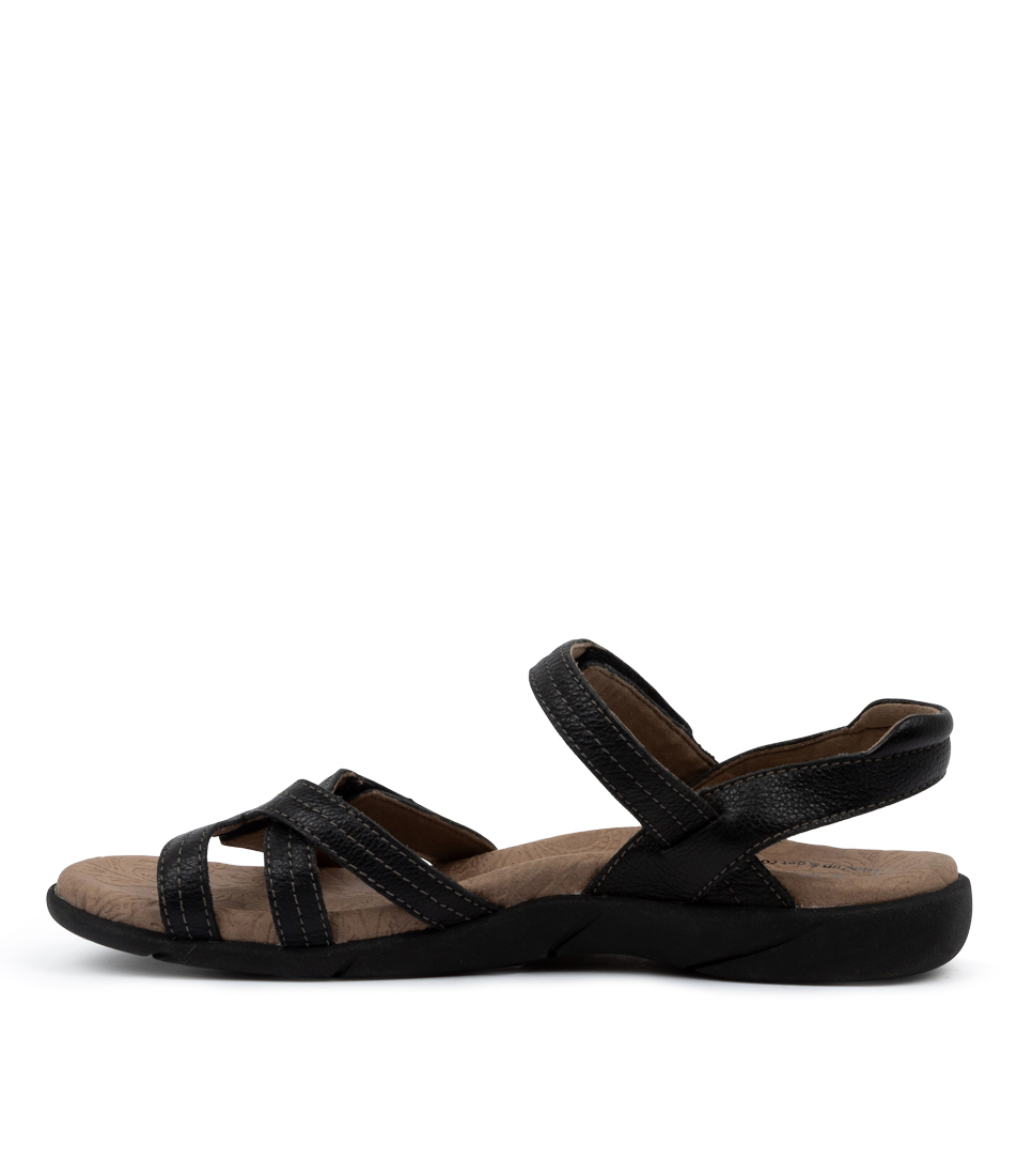 Buy Taos Happy Ts Black Sandals online with free shipping