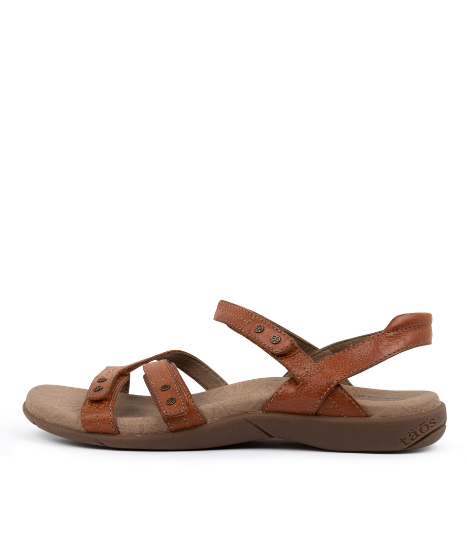 Buy Taos Happy Ts Brick Sandals online with free shipping