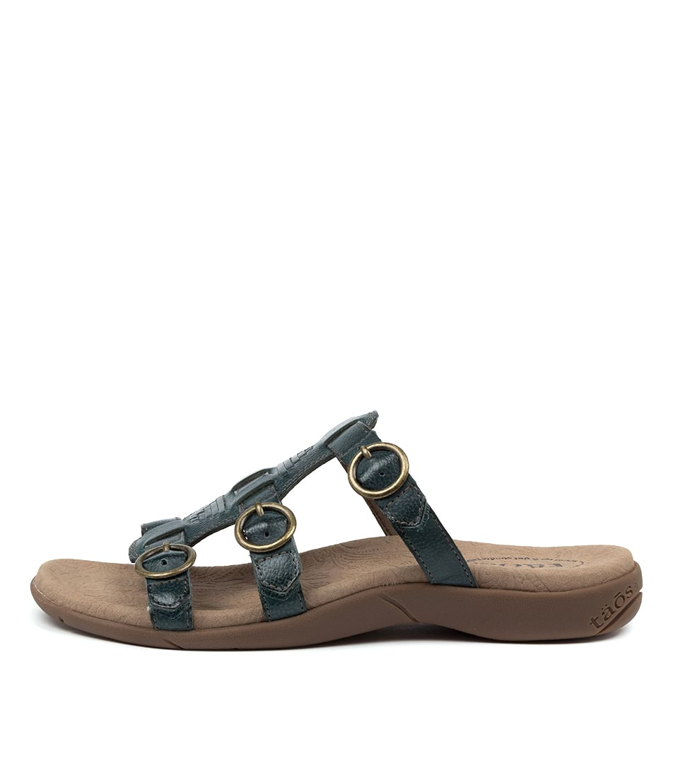 Buy Taos Good Times Ts Teal Sandals online with free shipping
