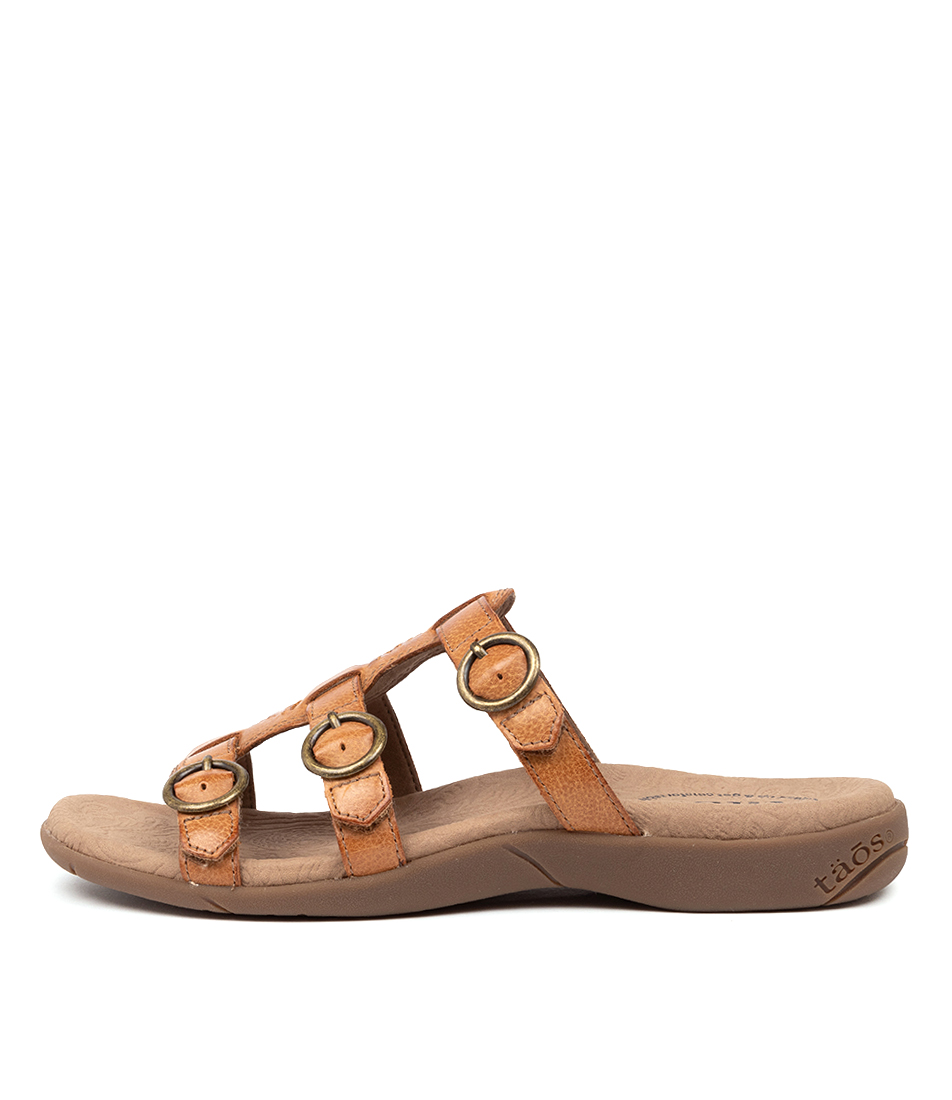 Buy Taos Good Times Ts Honey Sandals online with free shipping