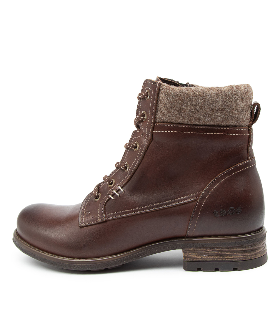 Buy Taos Cutie Ts Chocolate Ankle Boots online with free shipping