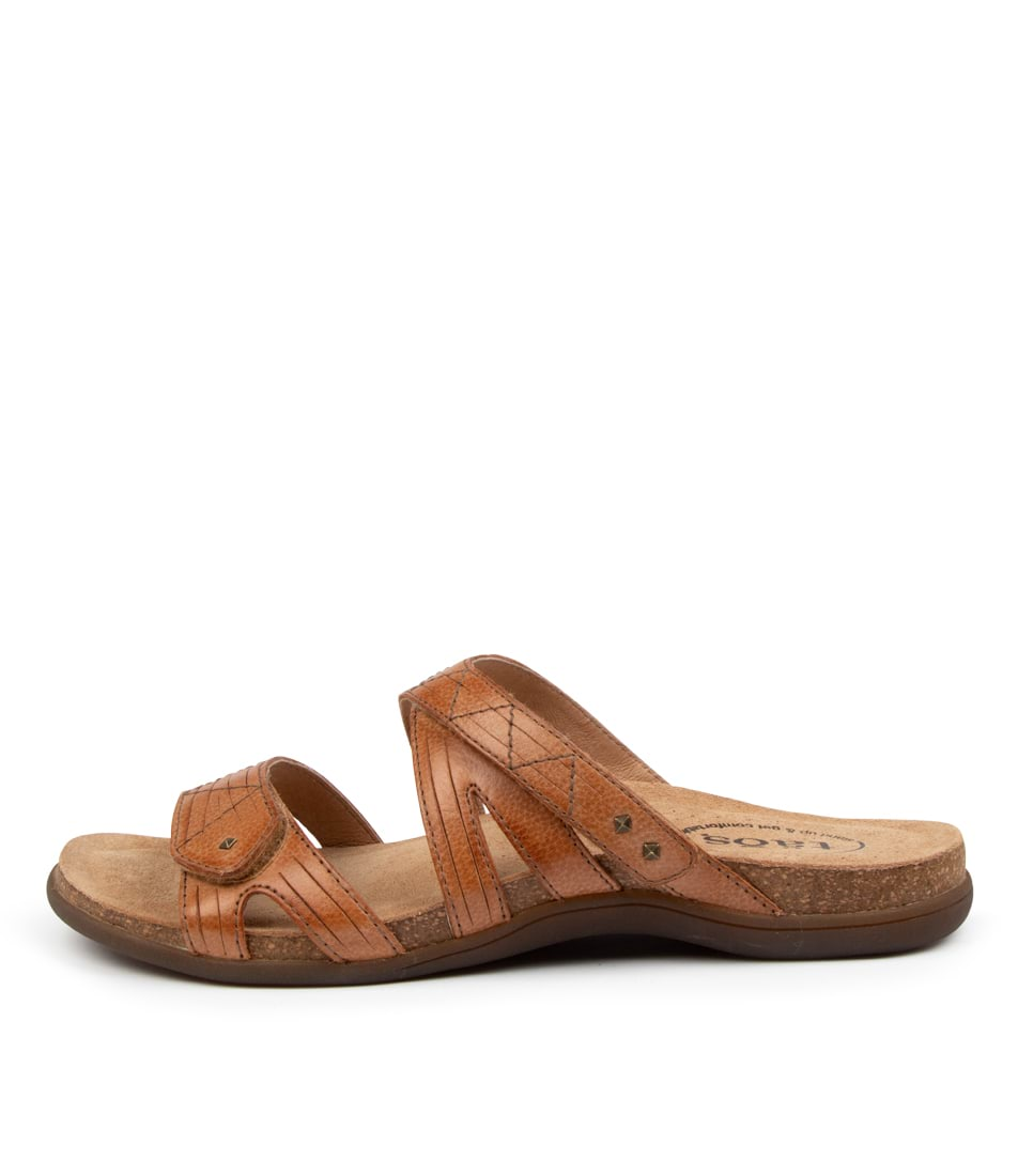 Buy Taos Premier Ts Tan Flat Sandals online with free shipping