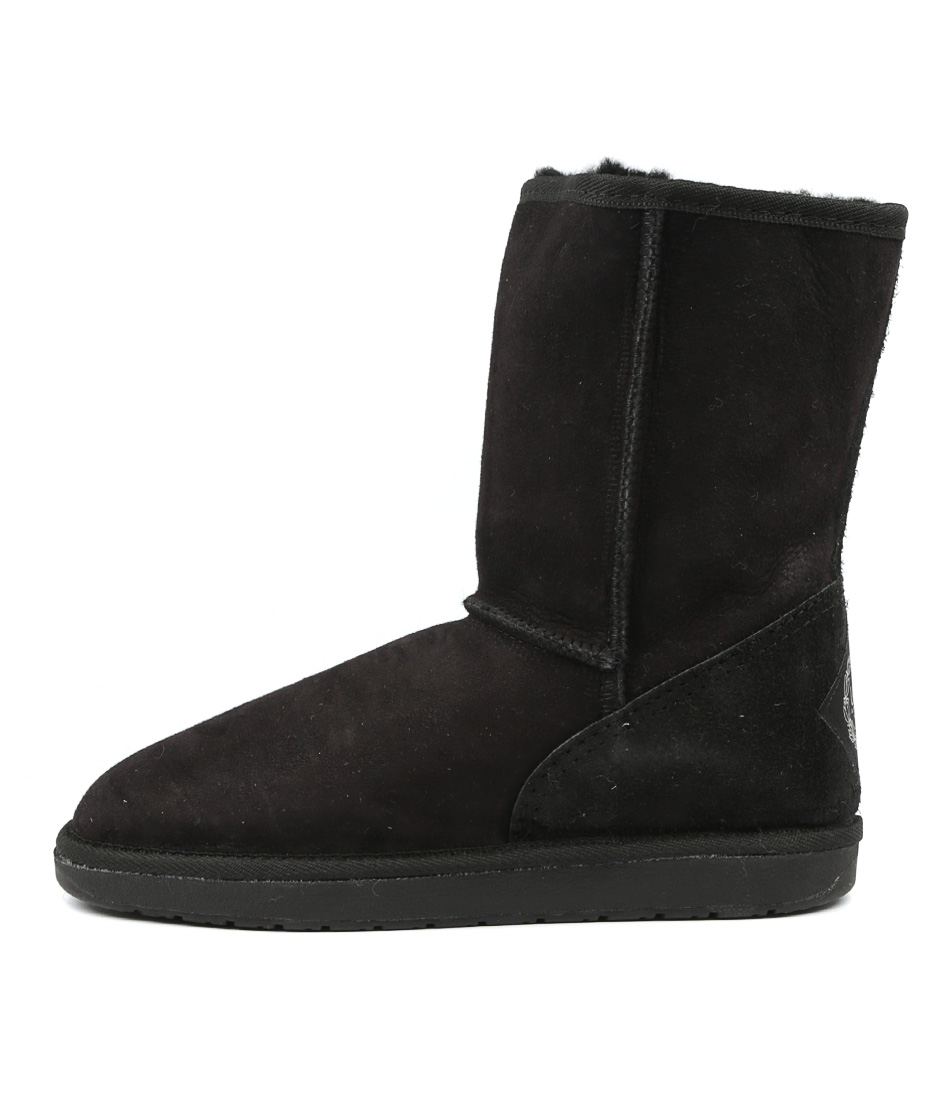 Ugg Australia Tidal 3/4 Boot Black Calf Boots