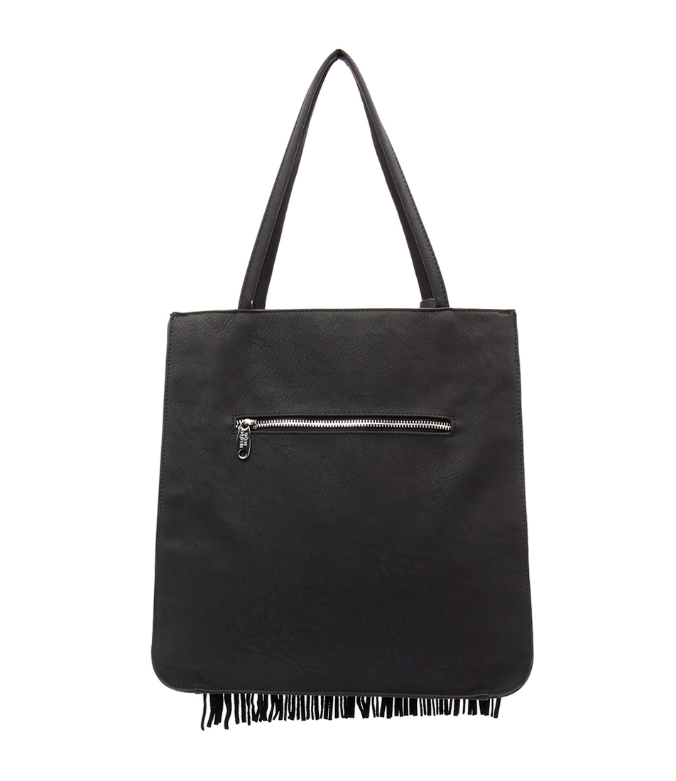 Urban Originals Superstition Hobo Tote Black Tote Bags