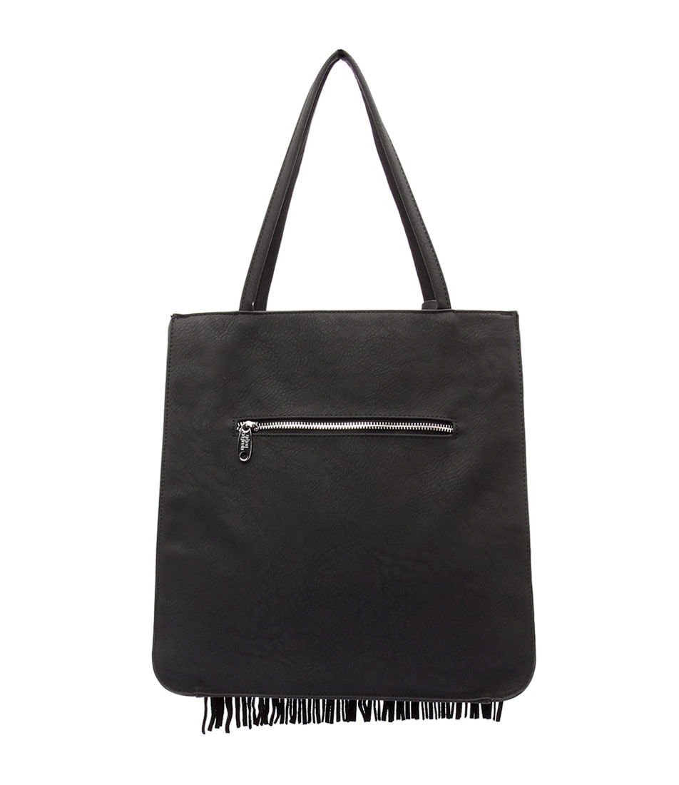 Urban Originals Superstition Hobo Tote Black  Tote Bag