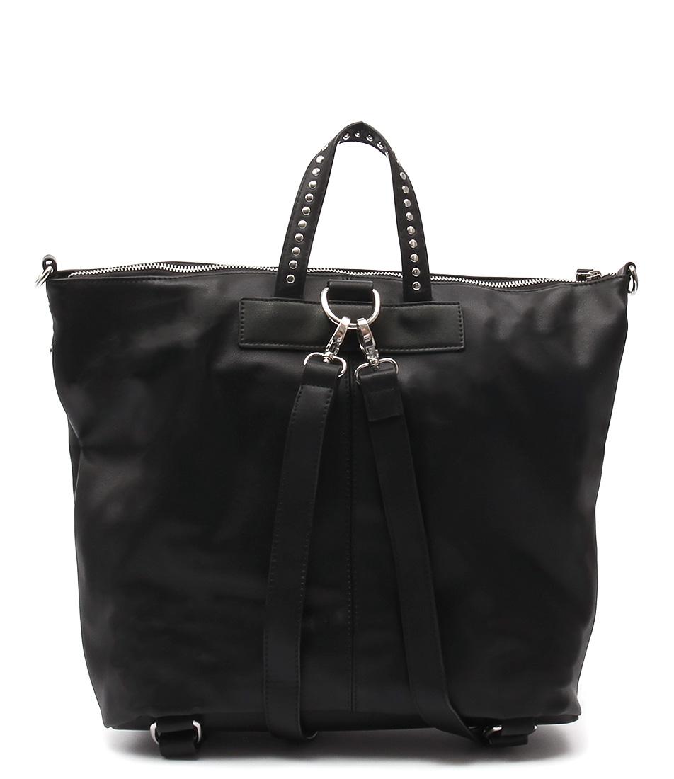 Urban Originals Willow Stud Black Bags  Backpack Bags