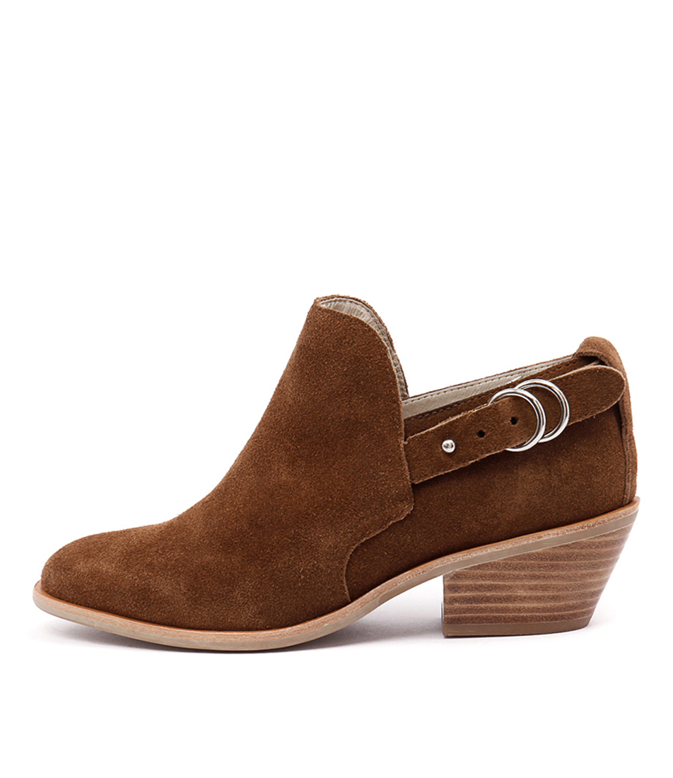 Urge Reme Tan Casual Ankle Boots