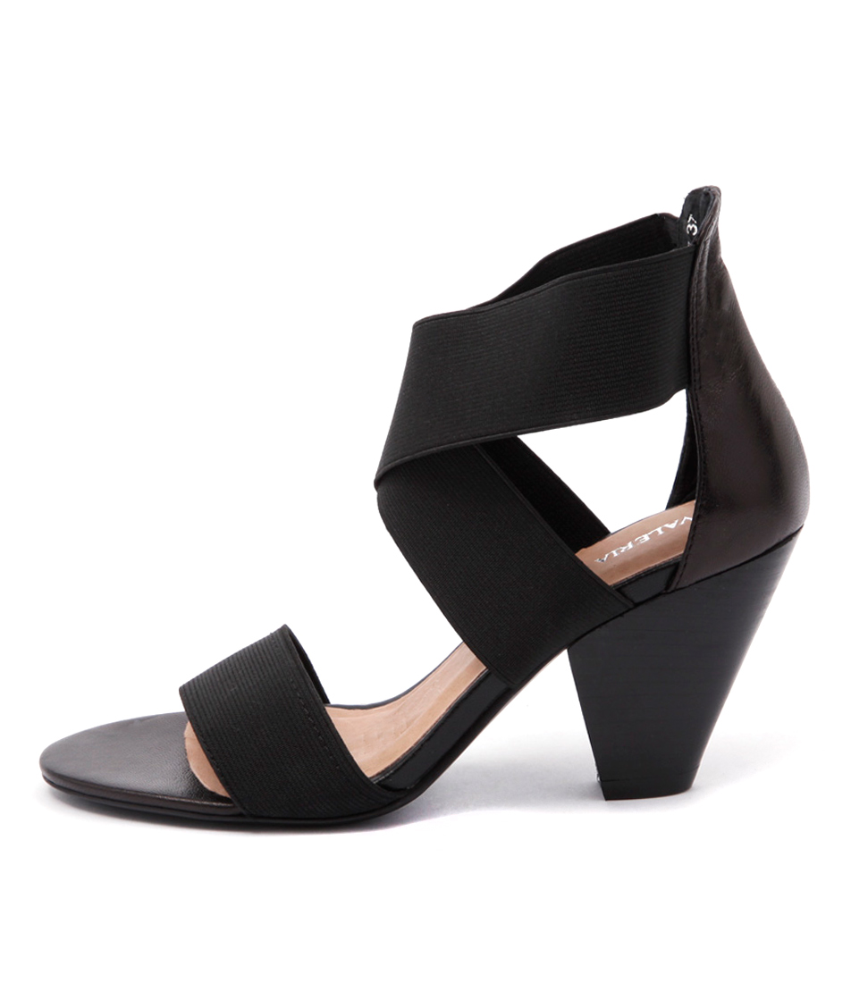 Valeria Grossi Macklin W Black Sandals