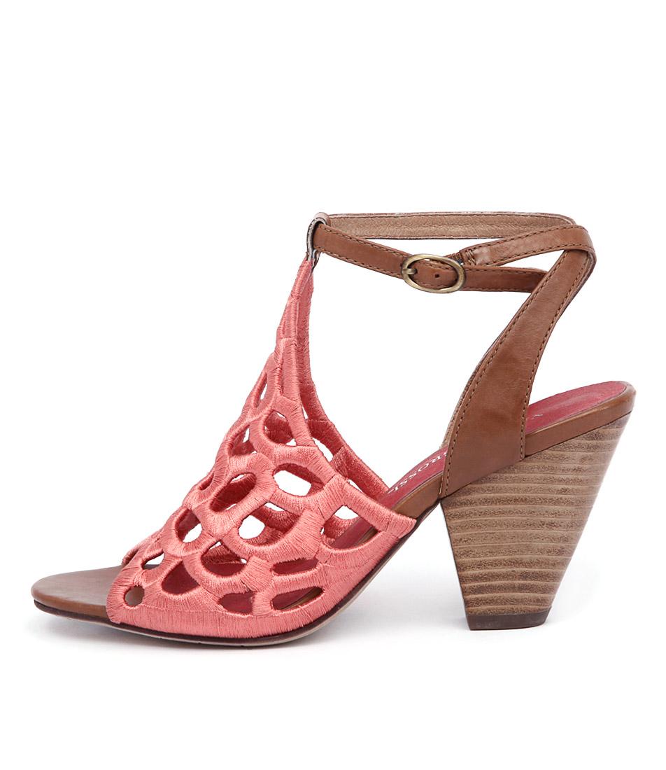 Valeria Grossi Malin W Coral Brandy Dress Heeled Sandals