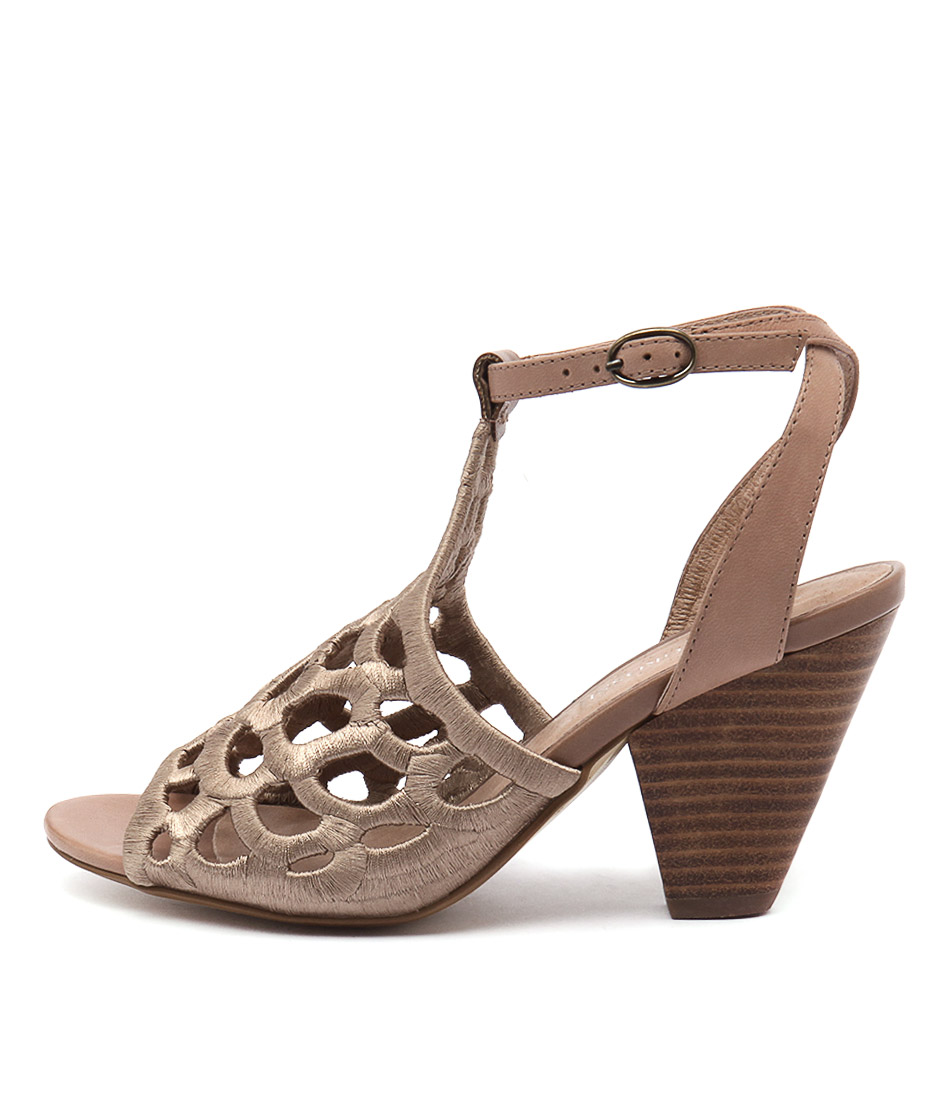 Valeria Grossi Malin W Beige Tan Sandals