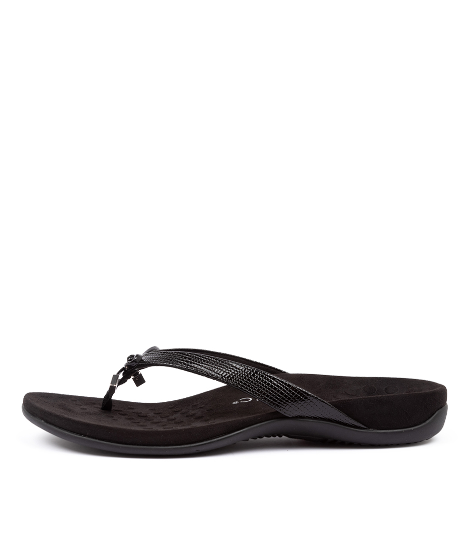 Buy Vionic Rest Bella Ii Black Sandals online with free shipping